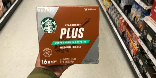 Starbucks K-Cup PLUS 16-Count Only $4.99 Each After Cash Back at Target + More