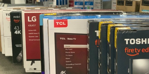 49″ TCL 4K Roku Smart LED TV Just $249.99 Shipped (Regularly $340)
