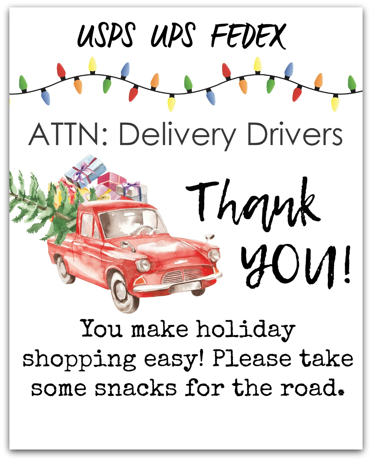 How to Thank Your Delivery Person During the Holidays
