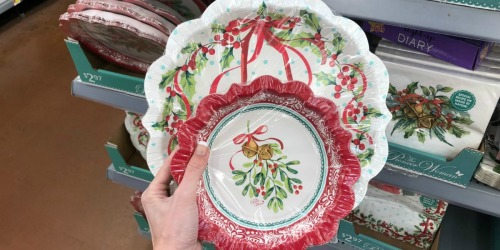 The Pioneer Woman Holiday Tableware Only $2.97 at Walmart