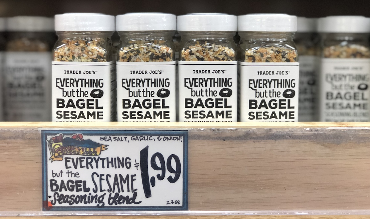 best trader joes items – everything but the bagel sesame seasoning blend