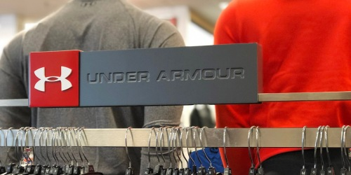Up to 50% Off at Under Armour Outlet + $20 Off $100 Order + Free Shipping