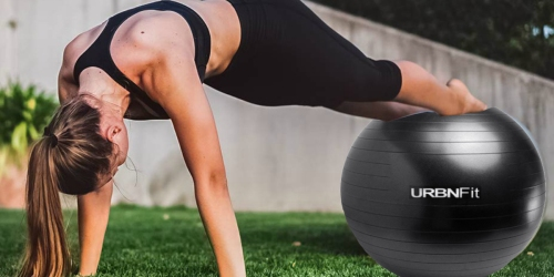 Amazon: URBNFit Exercise Ball Only $9.74 Shipped