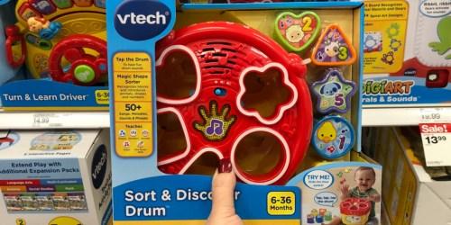 VTech Sort & Discover Drum Only $5.19 (Regularly $13) at Target