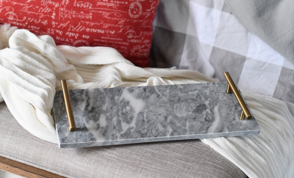 anthropologie copycat target walmart budget – marble tray