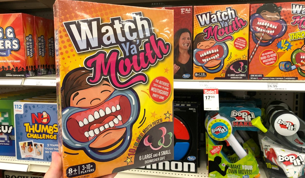 White Elephant Gifts, Gag Gifts, Funny Gift Ideas – watch ya mouth game