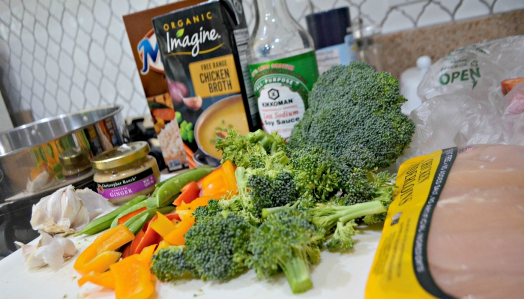 weeknight stir fry ingredients