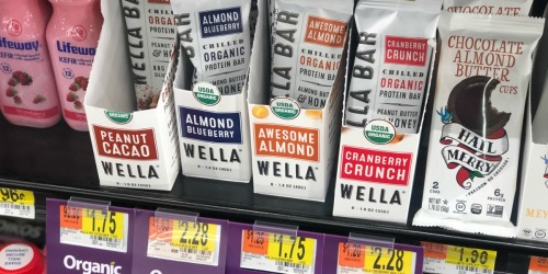50% Off Wella Protein Bars After Cash Back at Walmart