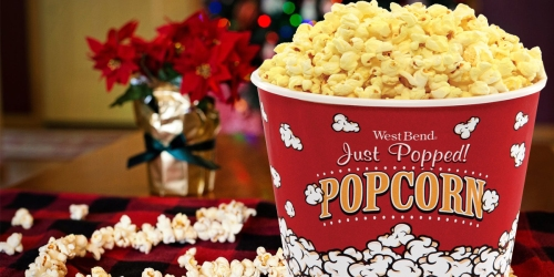 Dishwasher-Safe Popcorn Bucket Only $2.49 on Target.com (Fill w/ Goodies for Movie Lovers)