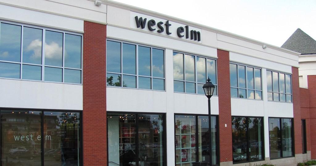 west elm store front