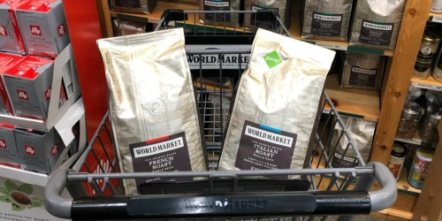 Free 12oz Bag of Coffee for Select World Market Rewards Members