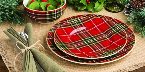 75% Off Christmas and Harvest Dinnerware at Home Depot