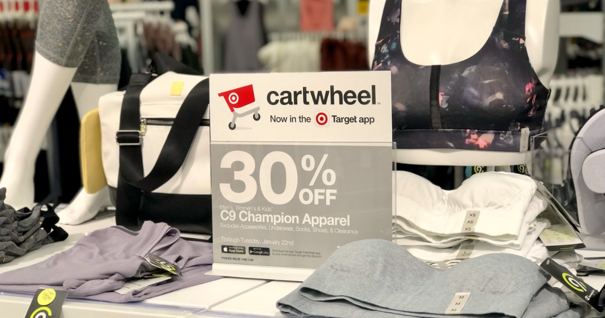 30% Off Men's & Women's Activewear at Target (In-Store & Online)