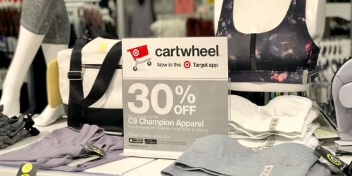 30% Off Men's & Women's Activewear at Target (In-Store & Online)