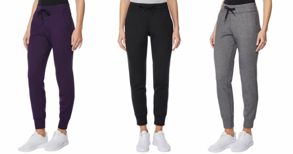 5aade46c5c8ff 32 Degrees Ladies Tech Fleece Jogger Pants Just $6.49 Each Shipped at Costco