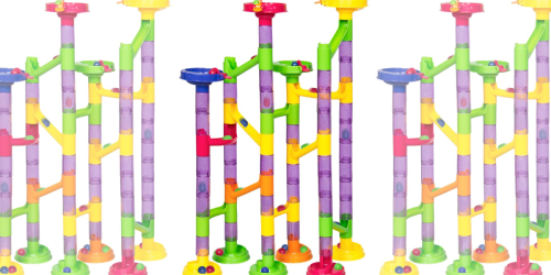 58-Piece Marble Run Railway Set Only $12.99 Shipped
