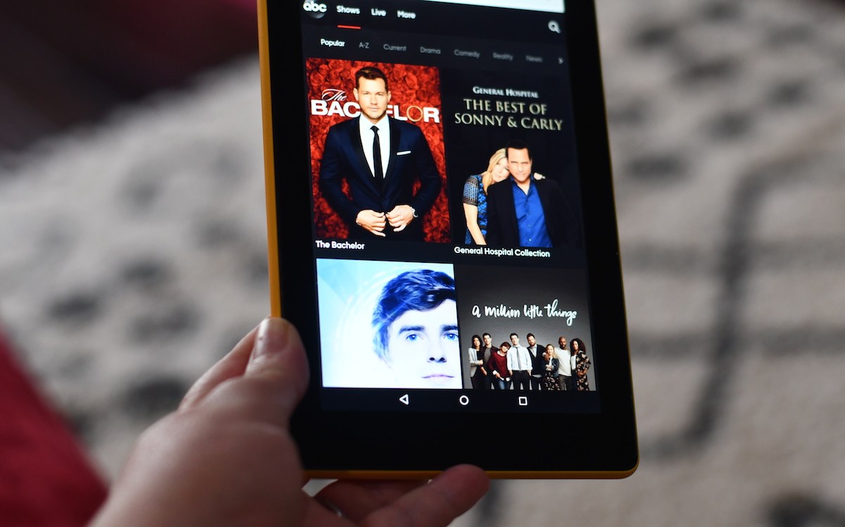 watch tv, movies, and sports for cheap or free – the bachelor on ipad screen