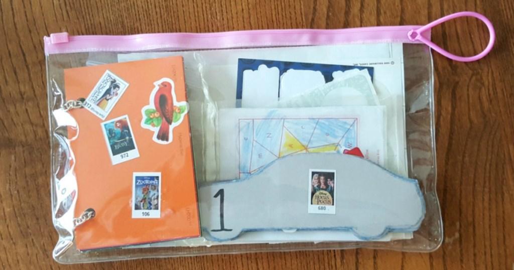 Create Kid's Activity Bags