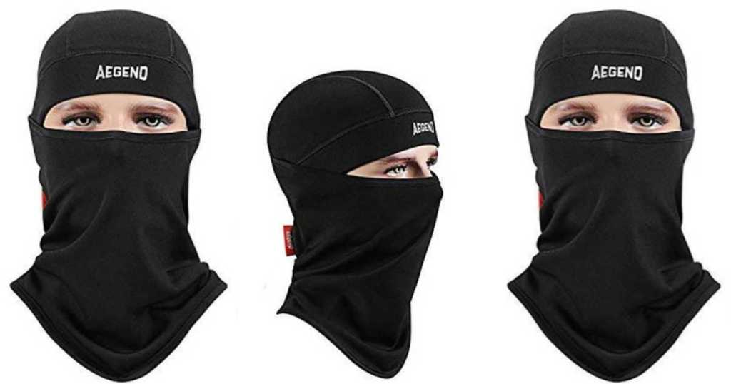 Amazon  Aegend Fleece Face Mask Only  7.94 Shipped (Use for Running ... 17fa67a6b53