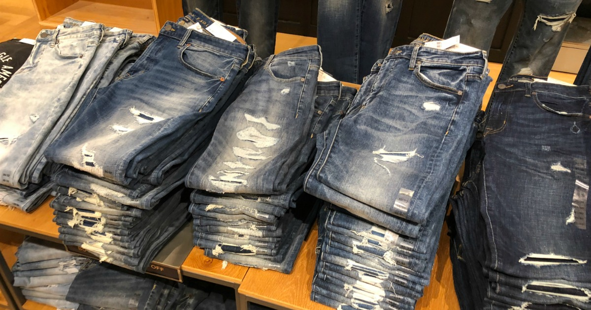American Eagle Jeans Only 19 99