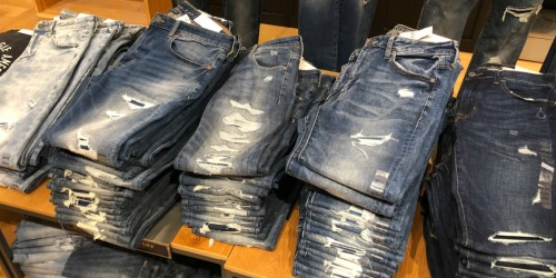 American Eagle Jeans Only $19.99 (Regularly up to $90) | In Stores & Online