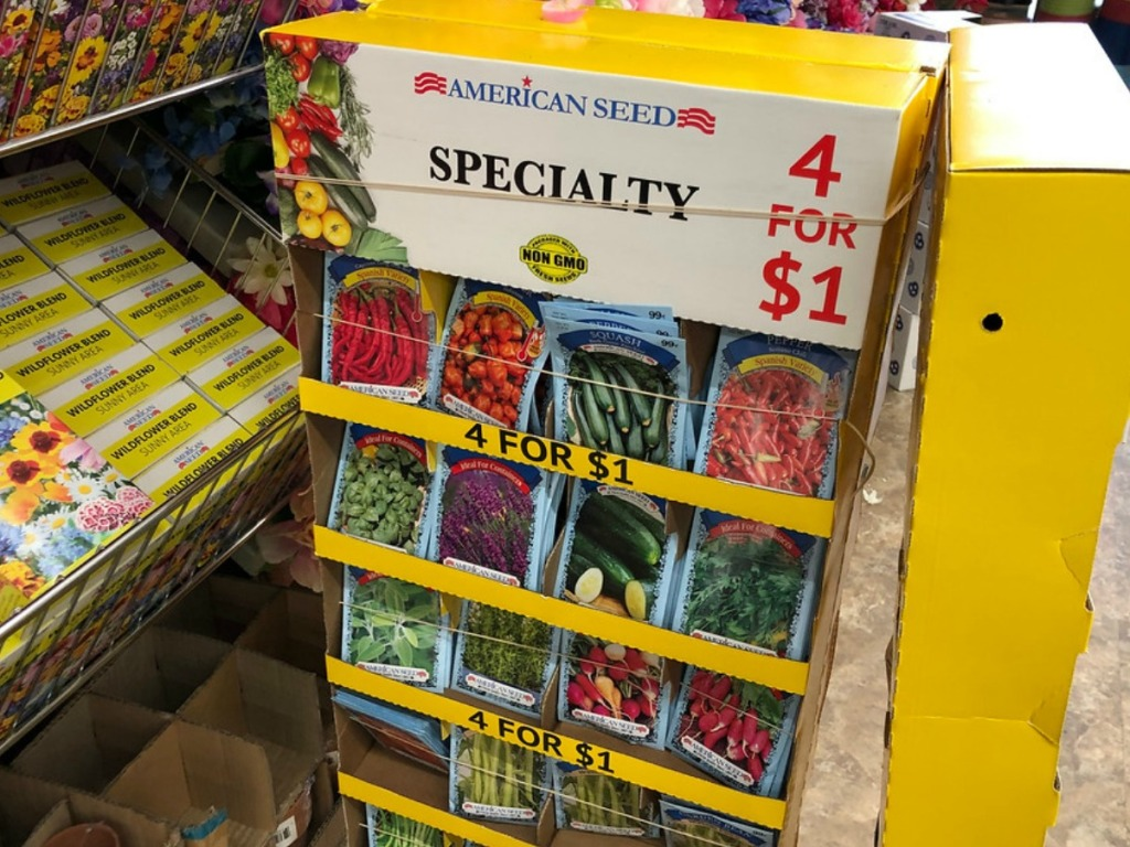 American Seed Only 4/$1