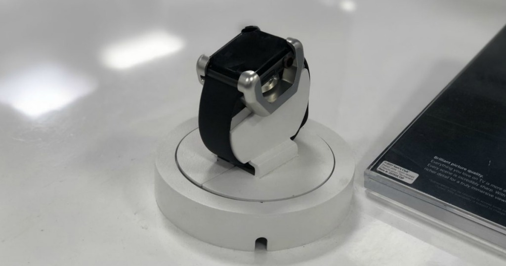 Apple Watch on display at retailer