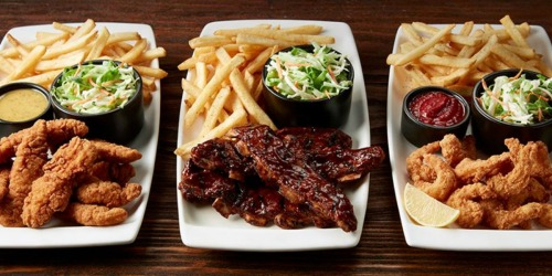 Applebee's All You Can Eat Shrimp, Riblets AND Tenders & Endless Fries Only $14.99 + More