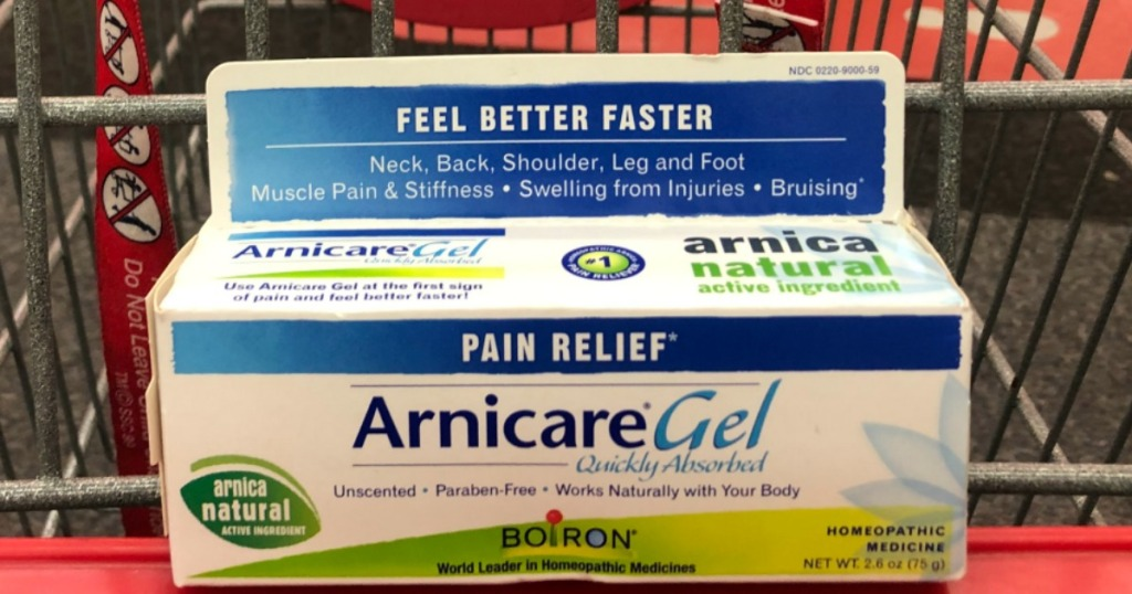 arnicare gel only 99 u00a2 after cash back  u0026 cvs rewards
