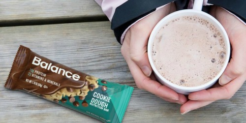 Balance Protein Bars 6 Count Just $4 Shipped on Amazon (Just 67¢ Per Bar)