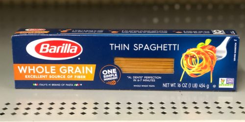 Barilla Whole Grain Pasta 12-Pack Just $11 Shipped on Amazon | Only 94¢ Per Box