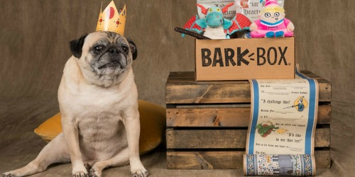 Get Your First BarkBox with Bonus Toy for ONLY $5 Shipped