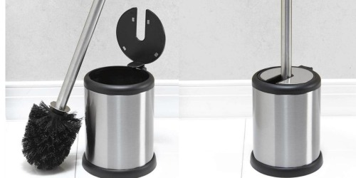 Amazon: Stainless Steel Toilet Brush & Holder Only $7.63 Shipped (Regularly $13)