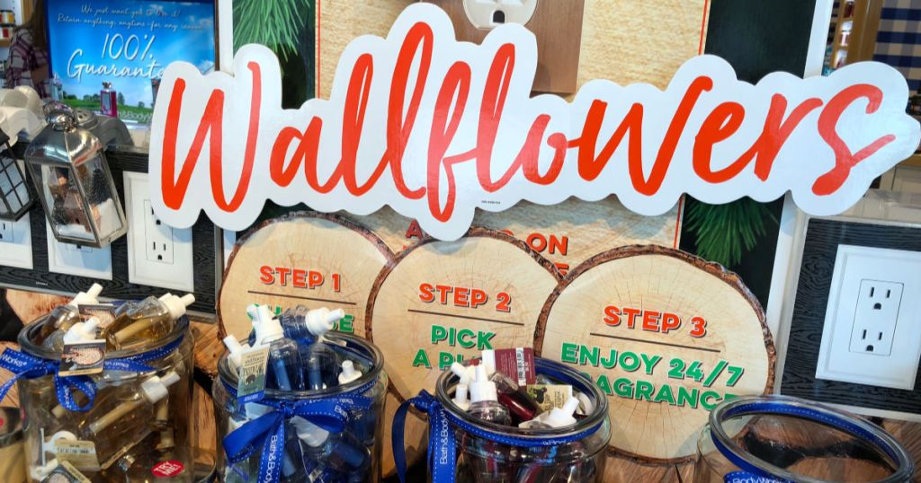 in store pictures of store featuring wallflowers fragrance refills