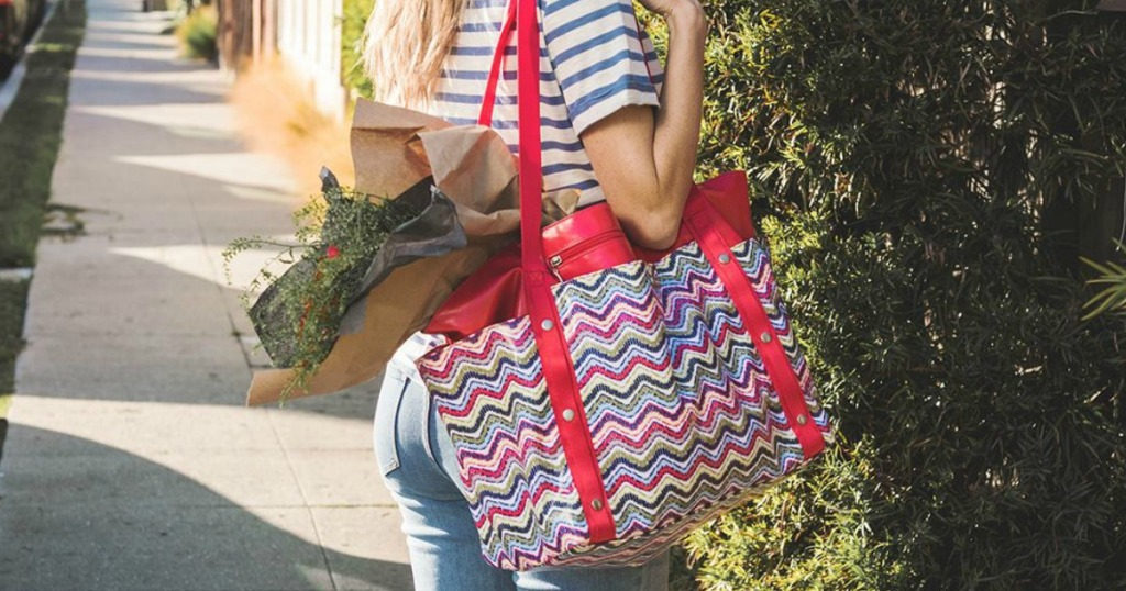 5beae7feb Baggallini Beach Tote Only $34 Shipped (Regularly $78) + More