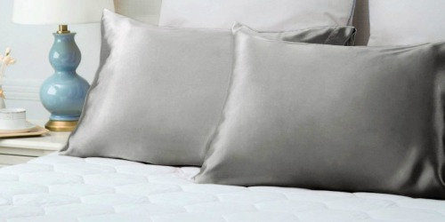 Amazon: Bedsure Satin Pillowcases 2-Pack as Low as $7.99 Shipped – Just $4 Each