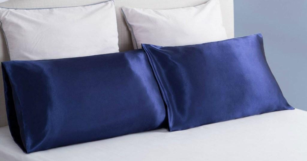 Amazon Bedsure Satin Pillowcase Set As Low As 7 99
