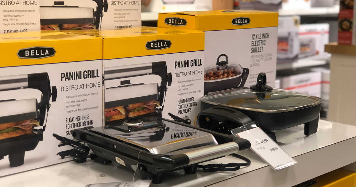 Bella Kitchen Appliances Only 9 99 After Macy S Rebate