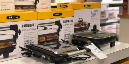 Bella Kitchen Appliances Only $9.99 After Macy's Rebate (Panini Grill, Toaster Oven & More)