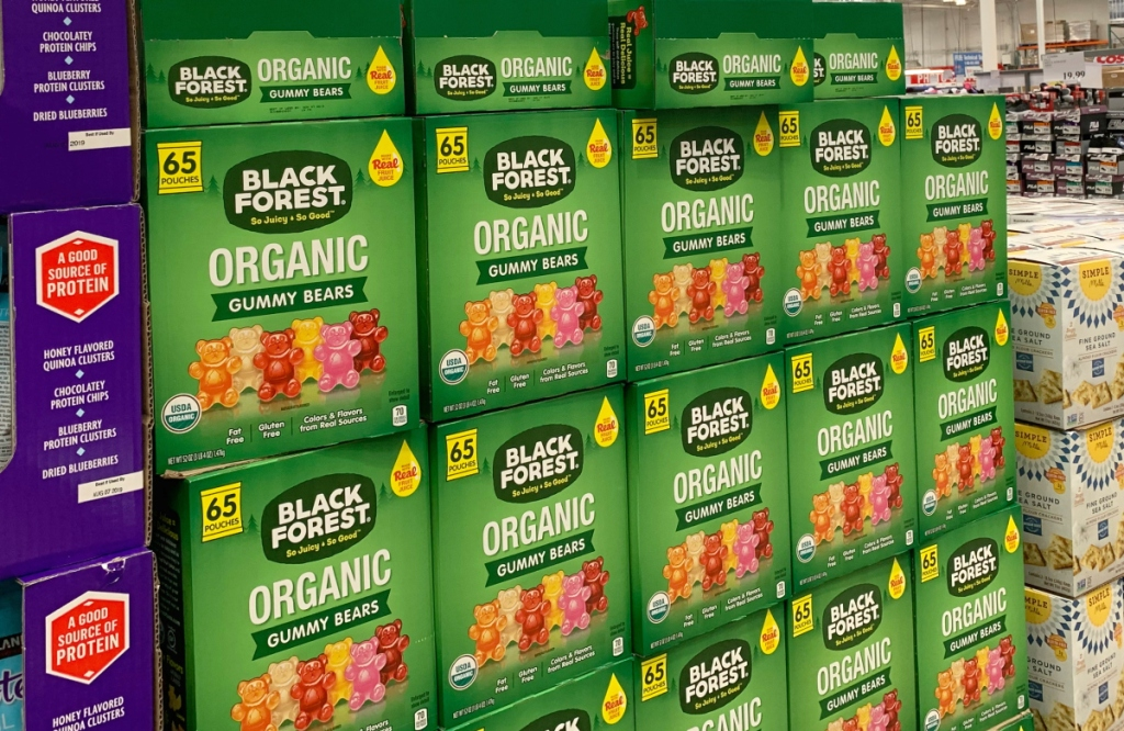 Black Forest Organic Gummy Bears at Costco