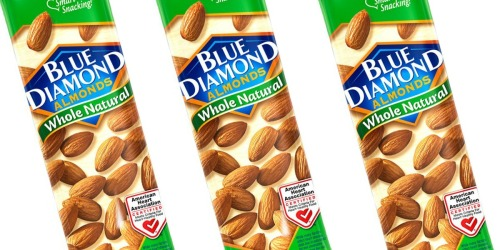 Amazon: Blue Diamond Whole Natural Almonds Single Serve 12-Pack Just $9.99 Shipped (Keto Friendly)