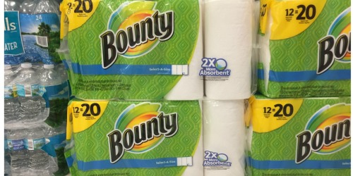 Bounty Paper Towels 8 HUGE Rolls Only $10 Each After Target Gift Card