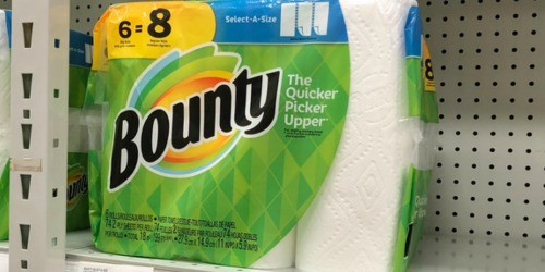 Bounty BIG Rolls 6-Pack Only $4.32 at Office Depot (Regularly $13)