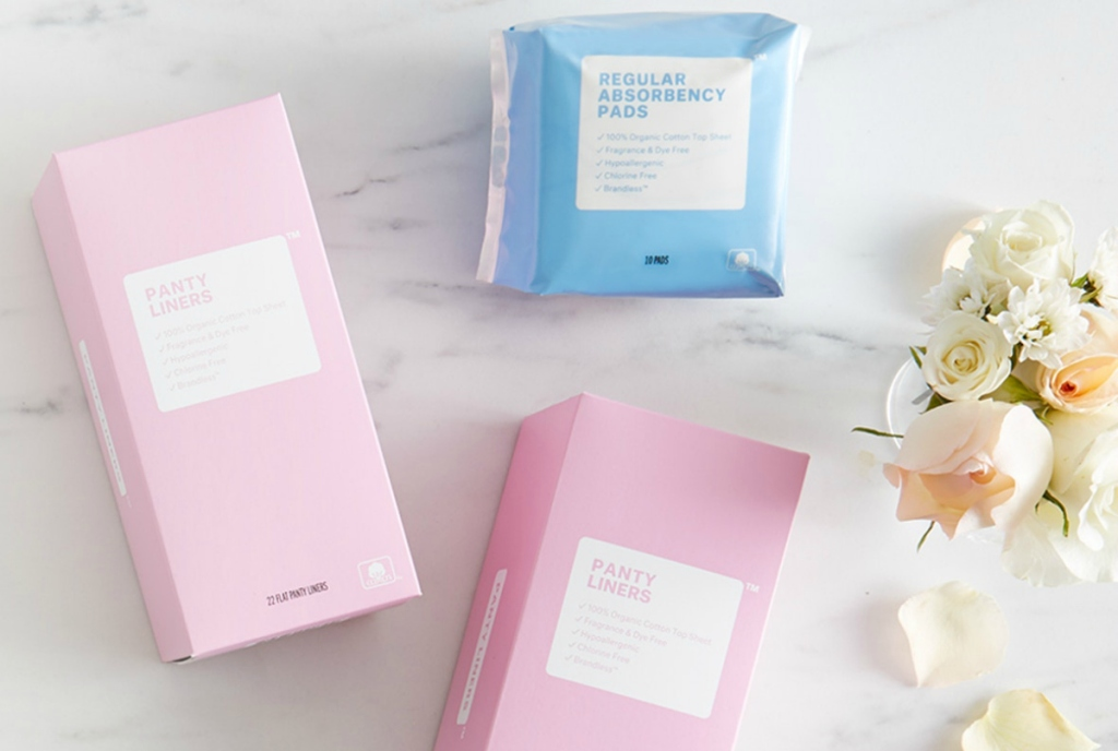 Brandless feminine products