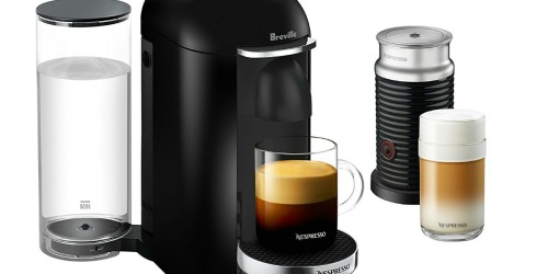 Breville Nespresso Vertuo-Plus AND Milk Frother Only $99.99 Shipped (Regularly $240)