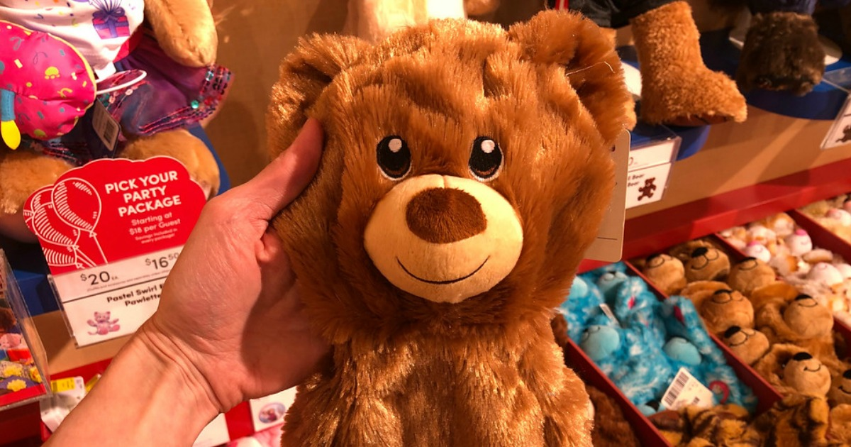 build-a-bear furry friends – sample brown bear that's part of the deal