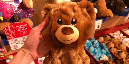 Build-A-Bear Friends Only $5.50 (In-Store Only) + $10 Online Deals & More