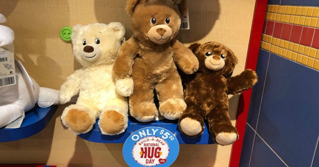 build a bear furry friends only in store only we 39 re sharing online deals hip2save. Black Bedroom Furniture Sets. Home Design Ideas