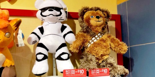 Buy One Build-A-Bear Furry Friend, Get One for $10 (Star Wars, My Little Pony & More)