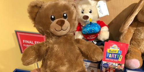 Build-A-Bear Furry Friends Just $5.50 – In Store Only (January 20th & 21st)